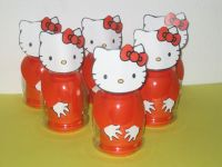 Traktatie fles Hello Kitty.